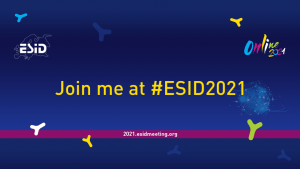 ESID 2021 - Example of a Facebook cover image